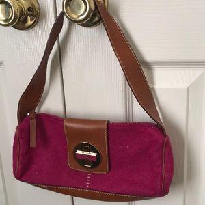 Small Pink Wool Kate Spade Purse
